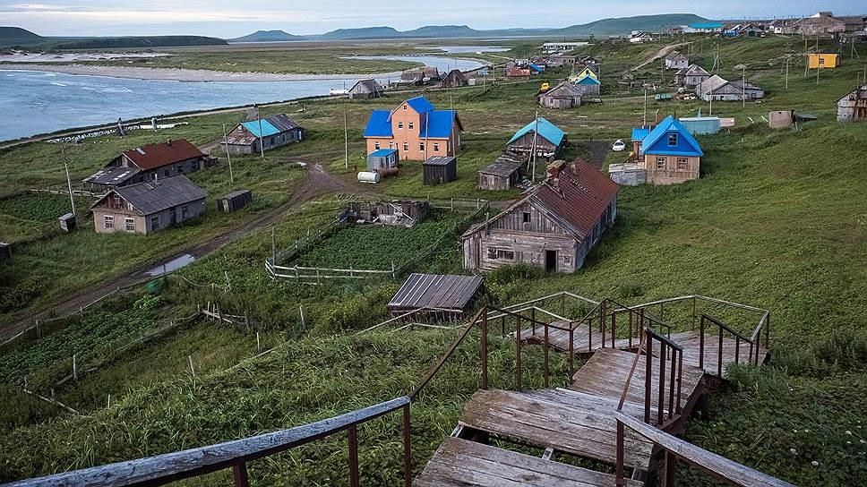 Село Никольское— единственный населенный пункт на Командорском архипелаге