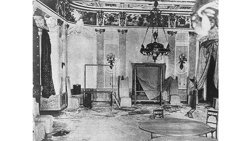 Гостиная в особняке в Денежном переулке, где был убит Мирбах / Фото: Archiv Gerstenberg/ullstein bild via Getty Images