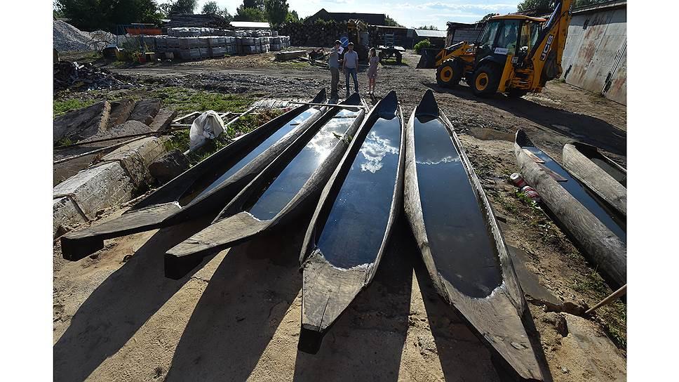 Впервые за долгие годы мещерские лодки произвели в товарном объеме по заказу рошальской мэрии