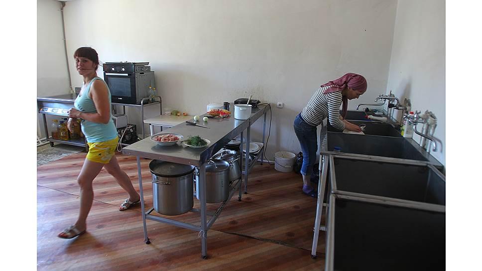 В социальном центре живут и другие беженцы с Украины