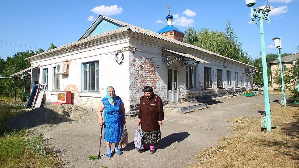 В поселке Шолоховский Ростовской области в частном социальном центре нашли приют две бабушки, беженки с Украины