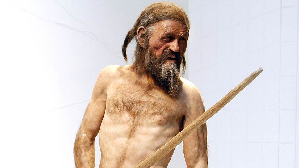 Так, по мнению антропологов, выглядел европеец более 5000 лет назад. Человек Эци, реконструкция