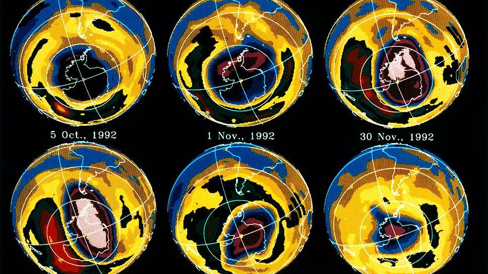 Почему уменьшается озоновая дыра