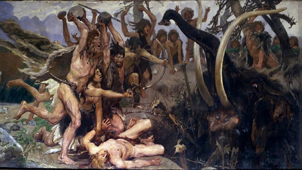 Мясо всегда было значительной, но далеко не основной пищей древнего человека