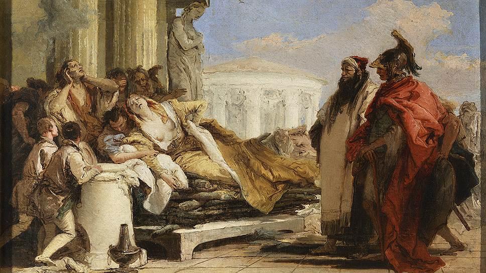 Джамбаттиста Тьеполо. «Смерть Дидоны». 1760-егоды