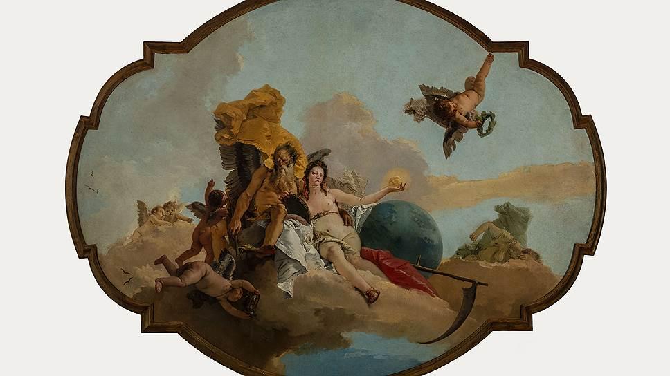 Джамбаттиста Тьеполо. «Время, открывающее Истину». Ок. 1745года