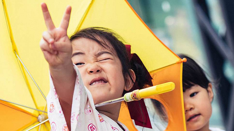 На японском фестивале возрастных ограничений нет