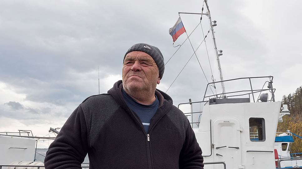 У туризма здесь суровое лицо. Николай Пантин— капитан катера «Круиз»