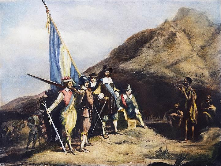 В 1652 году на мысе Доброй Надежды буры основали первое европейское поселение в стране
