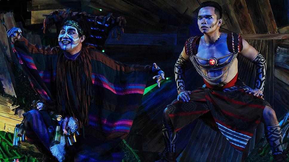 «Как пришла любовь к Хуану Тамаду». Студенческий театр Tanghalang, Филиппины