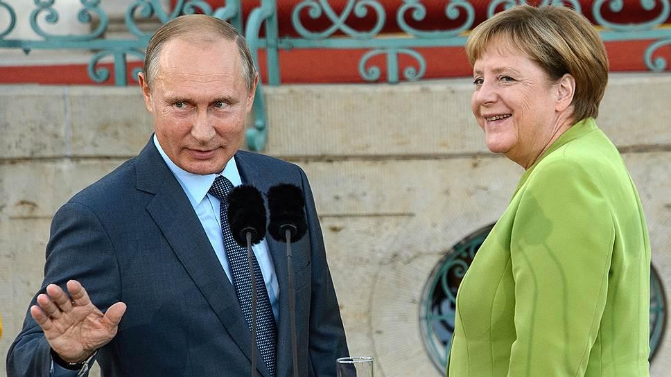 О стратегическом партнерстве между РФ и ФРГ говорить преждевременно, считают эксперты. Но благодаря прессингу президента США по всем азимутам лидеры двух стран уже по одну сторону баррикады
