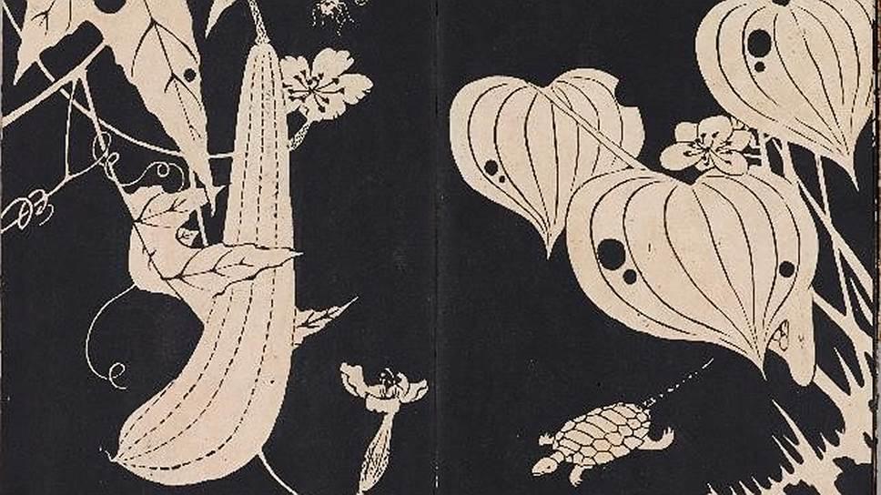 """Ито Дзякутю (1716–1800). «Прекрасные цветы возле хижины отшельника (""""Гэмпоёка"""")». 1768"""