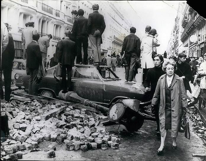 Май 1968, Латинский квартал