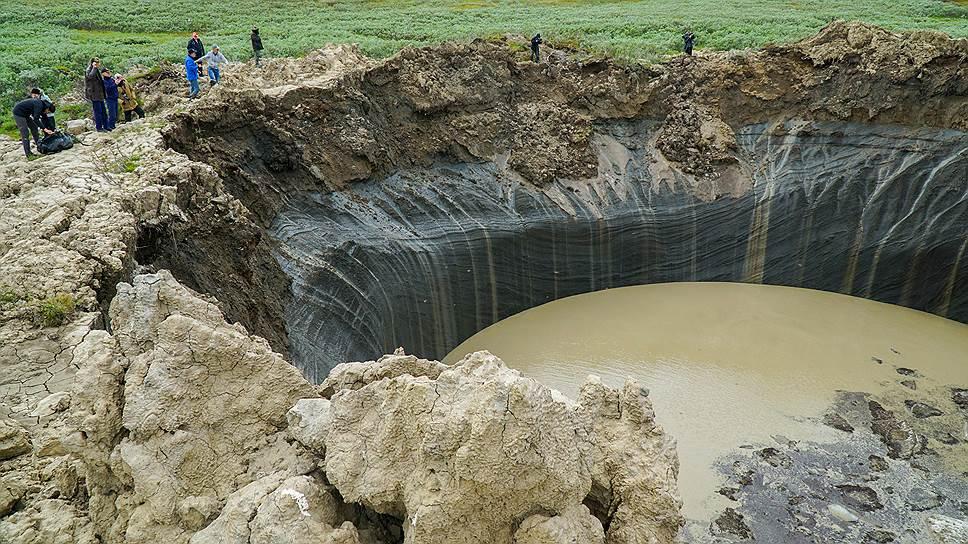 Ямальский кратер стал загадкой ХХIвека для геологов всего мира
