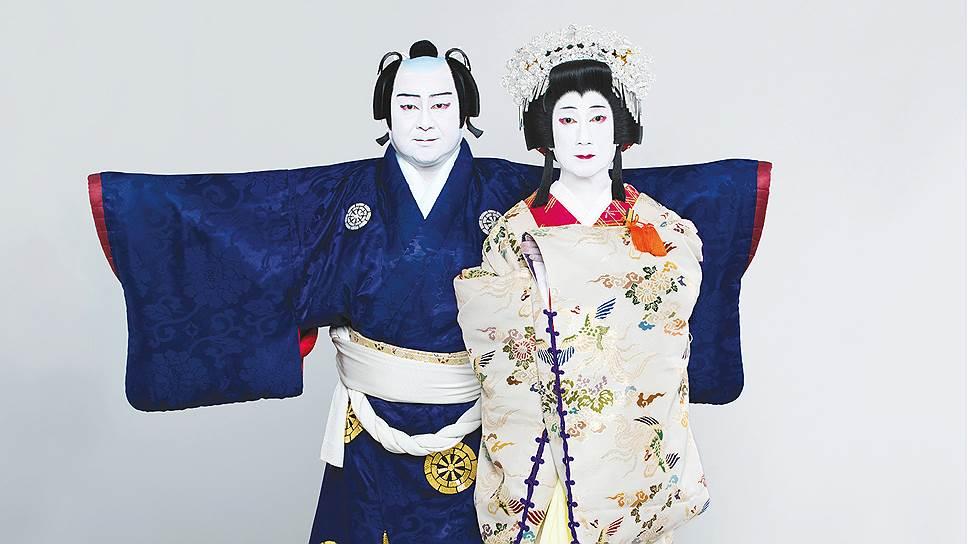 Афиша японского театра Сётику Гранд Кабуки