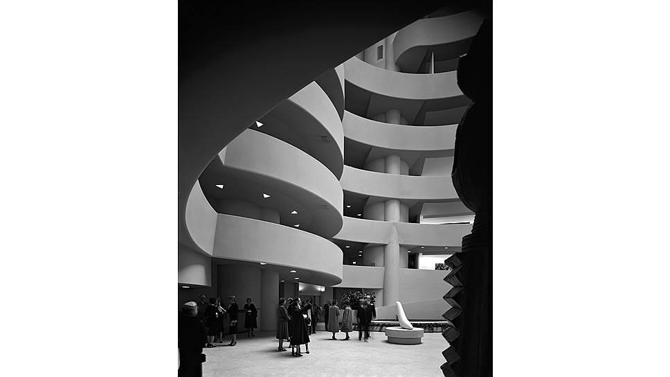Эзра Столлер. «Музей Соломона Гуггенхайма». 1959