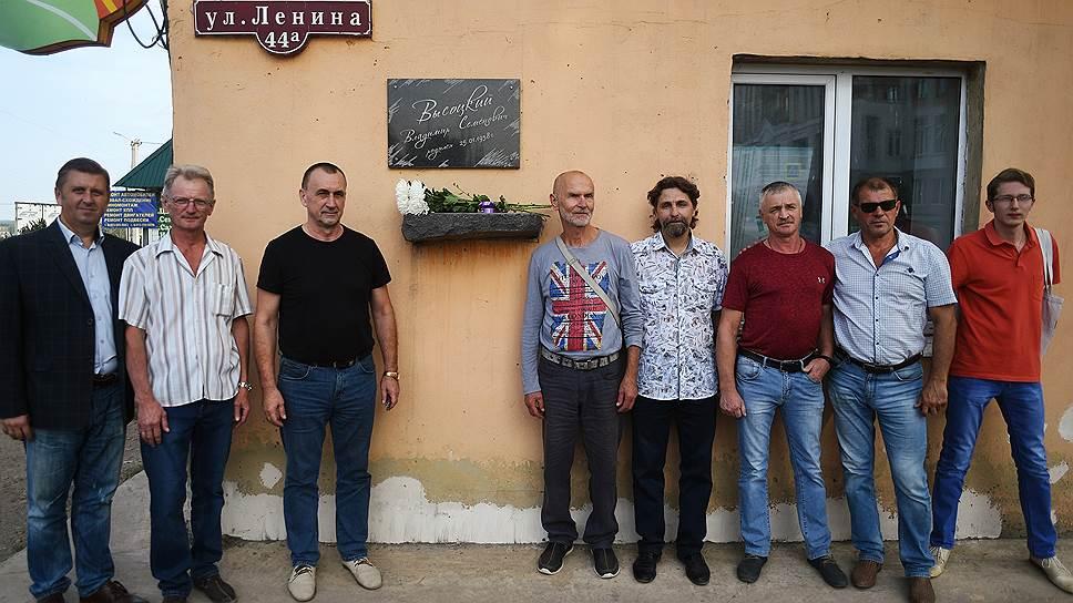 Поклонники творчества Высоцкого