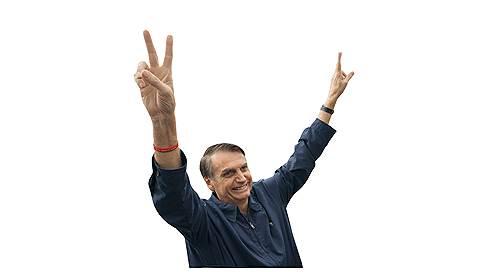 Жаир Болсонару, кандидат в президенты Бразилии  / Популист