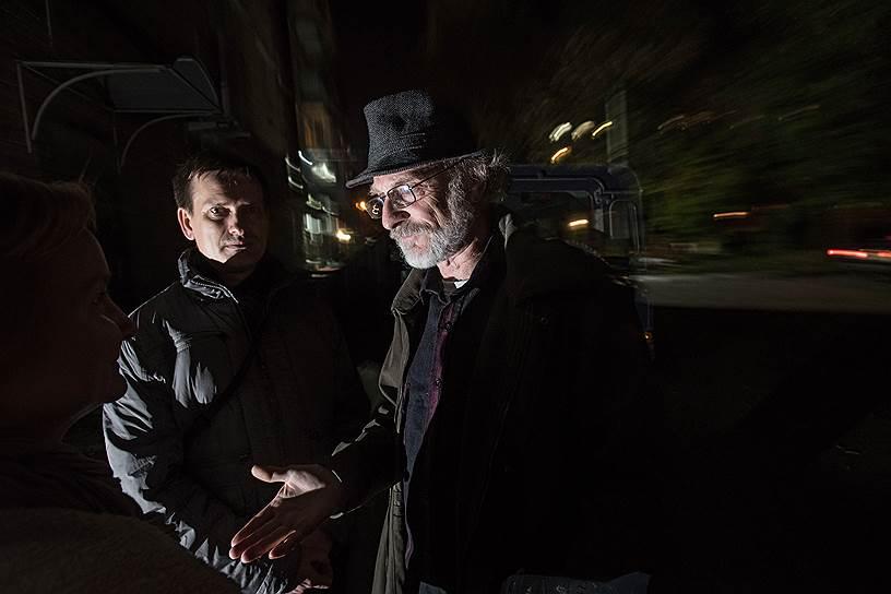 Активист движения «Суть времени» Иван Орлов (слева) и экс-прокурор Андрей Чугуевский настаивают: любой, кто критикует советское прошлое, должен быть «выведен за рамки национального консенсуса»