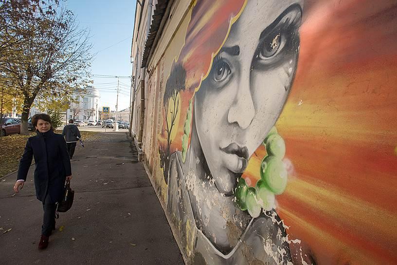 Другие граффити Виктора Джокера (Лебедева) не вызывали таких споров