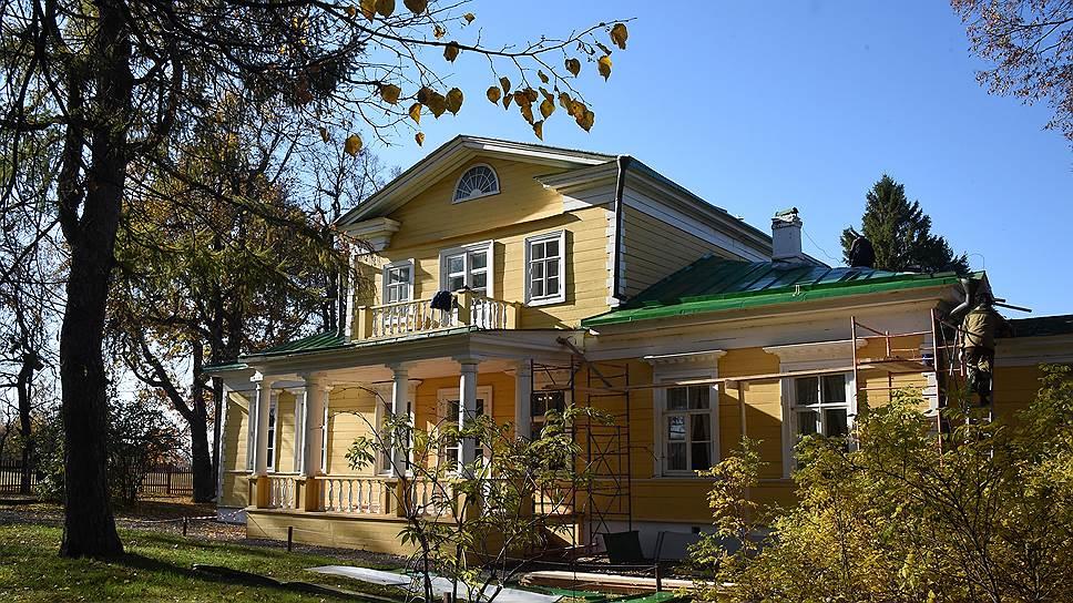 В барском доме жило несколько поколений Пушкиных