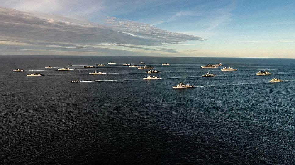Военно-морской дебют НАТО в арктических водах