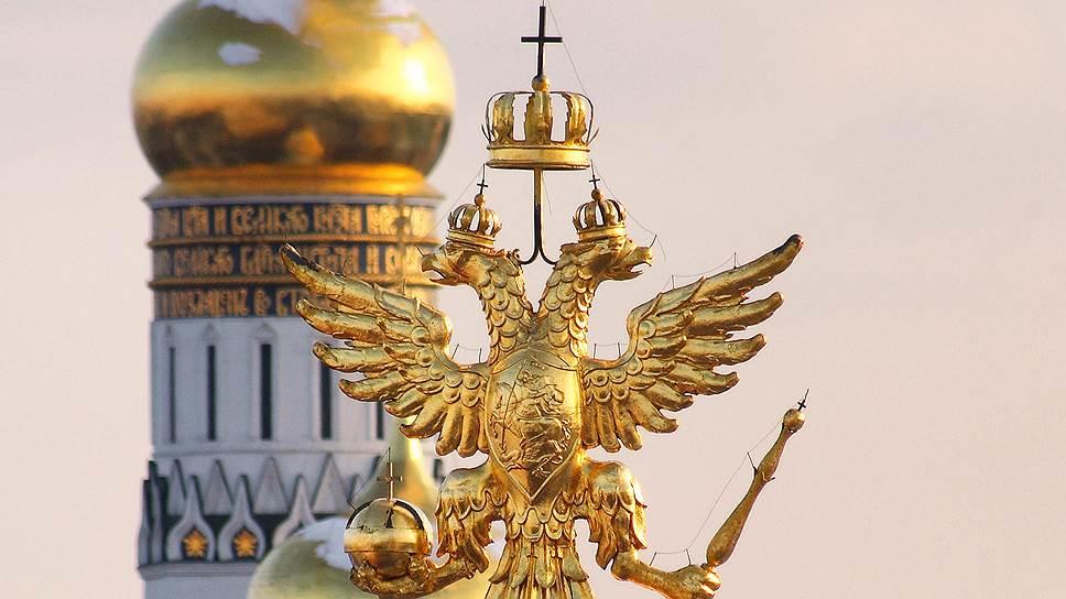 Как менялся герб России – двуглавый орел