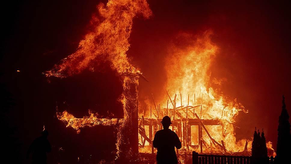 Больше всего жертв и разрушений в городе Парадайз, который оказался уничтожен огнем на 95процентов