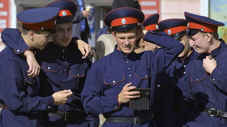 Отдельная когорта — казачьи кадетские корпуса
