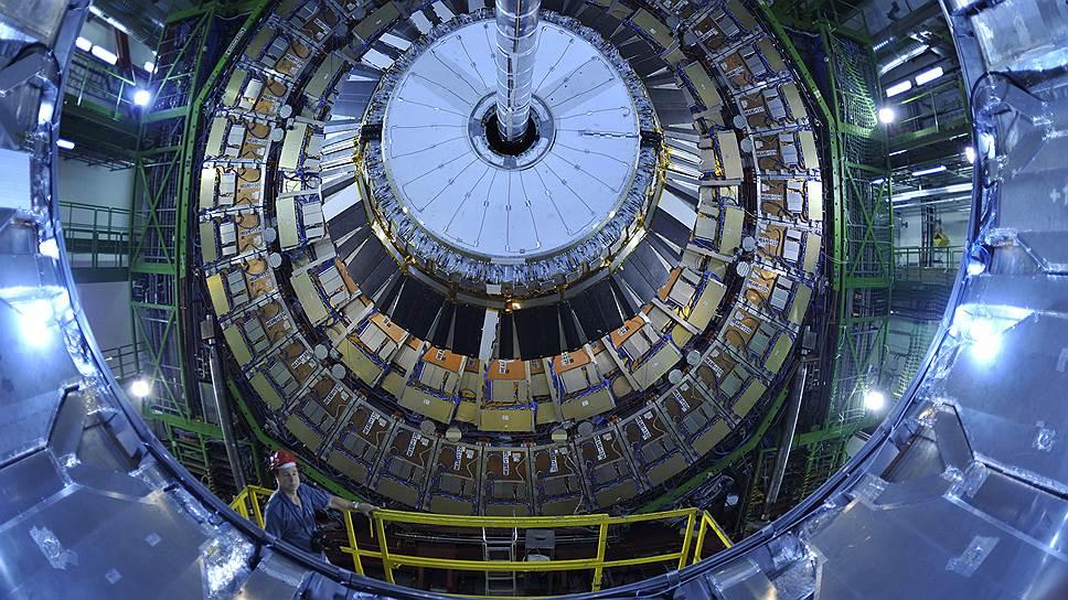Футурологические интерьеры ЦЕРНа сделали бы честь любой голливудской фантастике