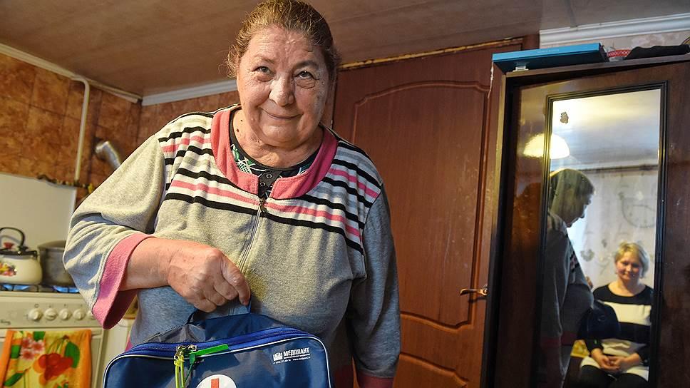 Пенсионерка Няймя Абдрашикова — первое звено медицинской помощи в селе Черемишево