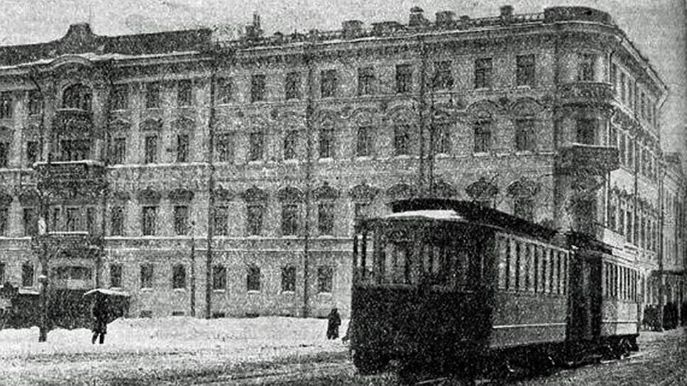 Здание исполкома Коминтерна на Моховой улице в Москве