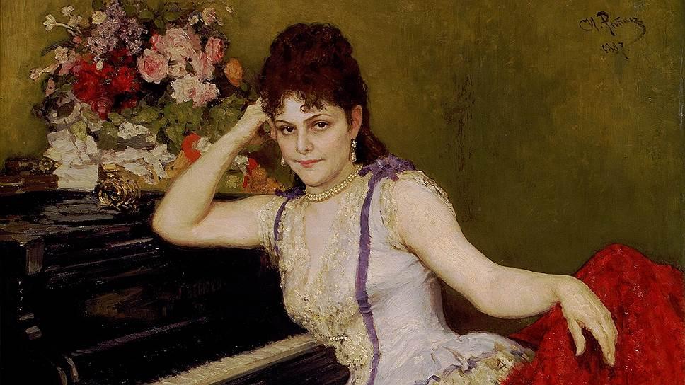 Портрет С.И. Ментер. 1887