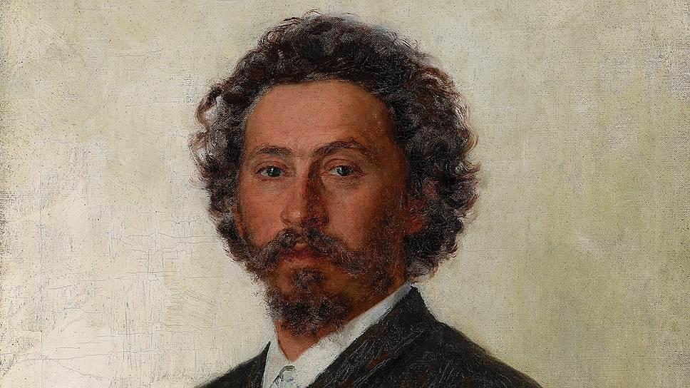 Илья Репин. «Автопортрет». 1887