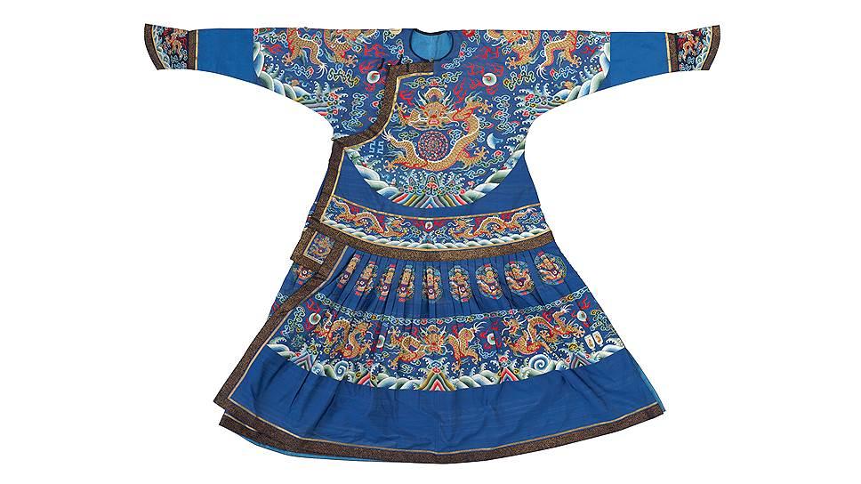 Парадное одеяние императора — халат чаопао. Эпоха Цин, правление Цзяцин (1796–1821)