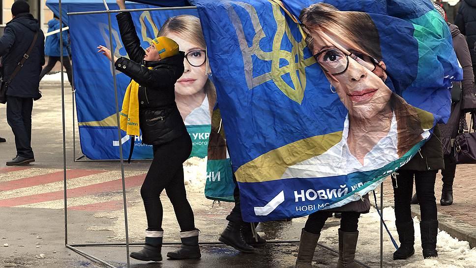 Долго казалось, что в этой кампании Юлия Тимошенко вне конкуренции. Сегодня ее перспективы спорны