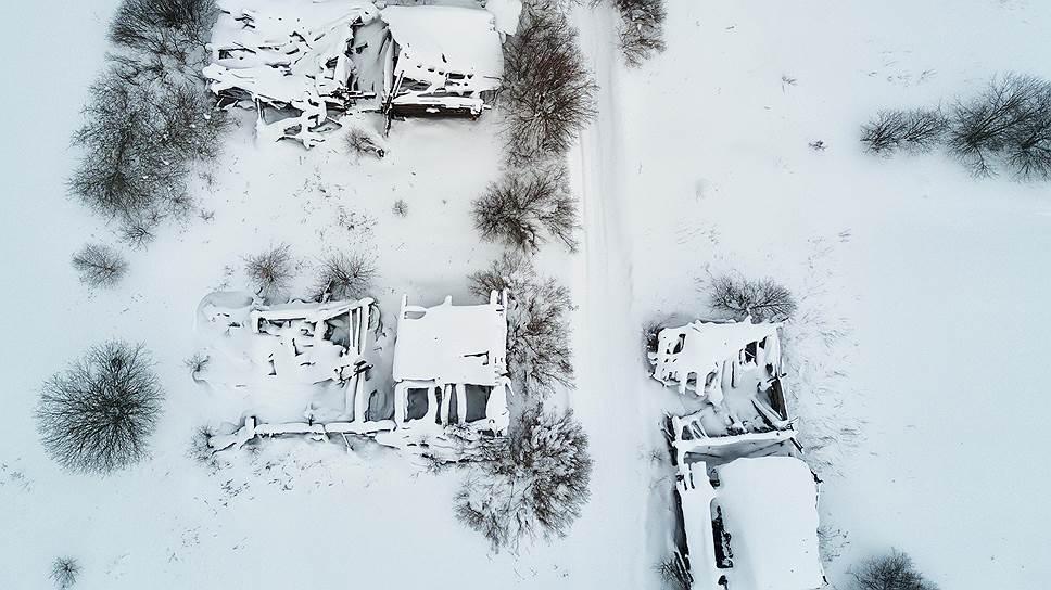 Вымершая деревня Вонюх недалеко от Красного Бора