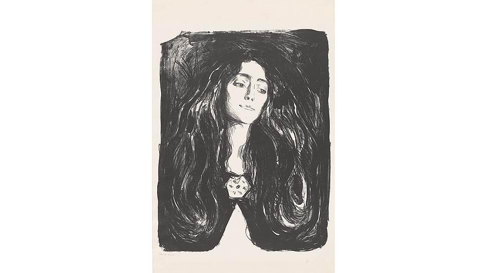«Эва Мудоччи. Брошь». 1903