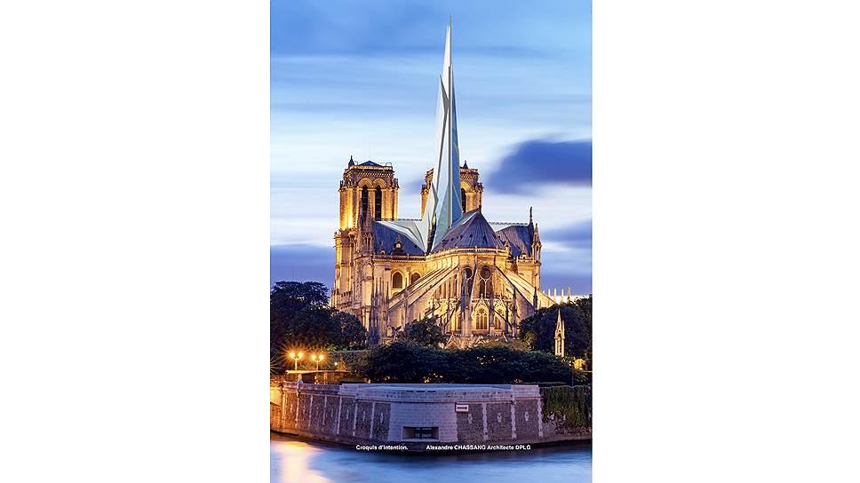Проект французского архитектора Александра Шассана — лаконичный и… скучный