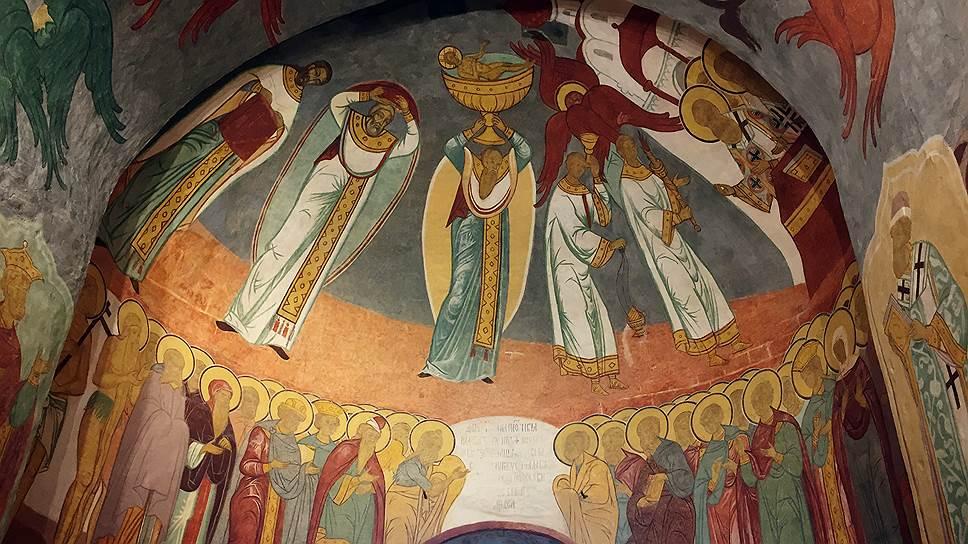 Фрески собора занимают общую площадь 1080 квадратных метров