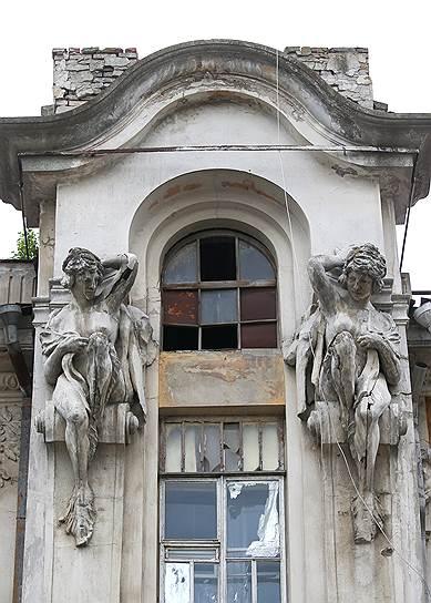 Дом инженера Яхимовича в Саратове, к судьбе которого привлекали внимание президента РФ. Так выглядел дом до пожара