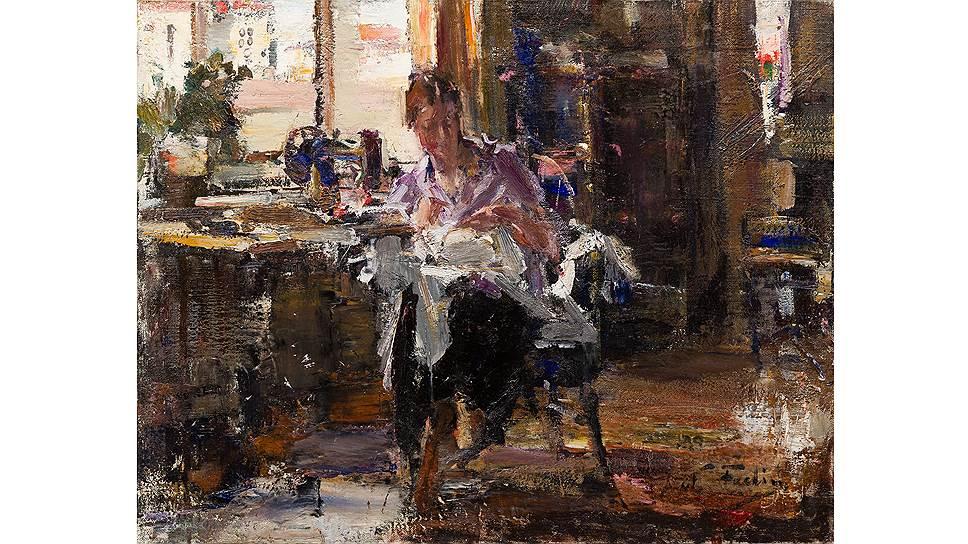 Николай Фешин. «Дома в Нью-Йорке». 1924 год