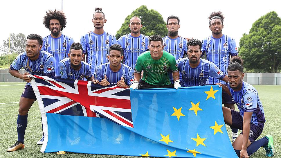 Сборная Тувалу (Океания) на турнирах непризнанных представляет признанное государство в 11 тысяч жителей, которое, однако, не входит в FIFA