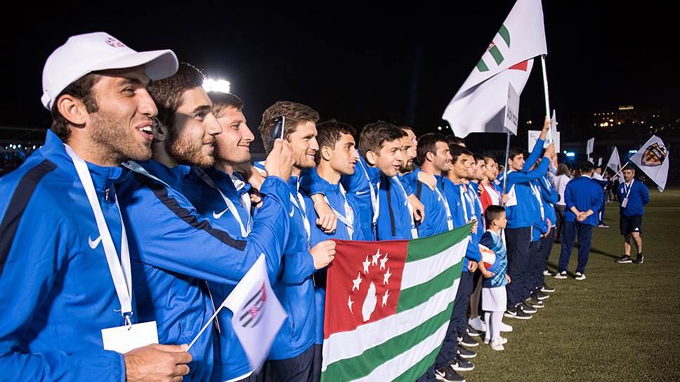 Сборная Абхазия осчастливила соотечественников, выиграв домашний чемпионат CONIFA в 2016-м
