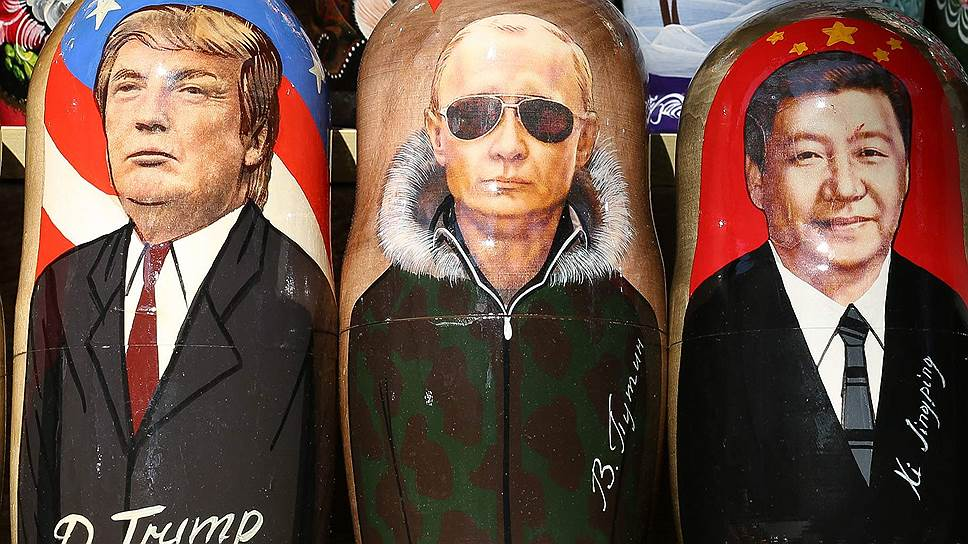 Времена и персоналии меняются, но и сегодня судьба мирового порядка зависит от взаимоотношений «большой тройки» — США, России, Китая