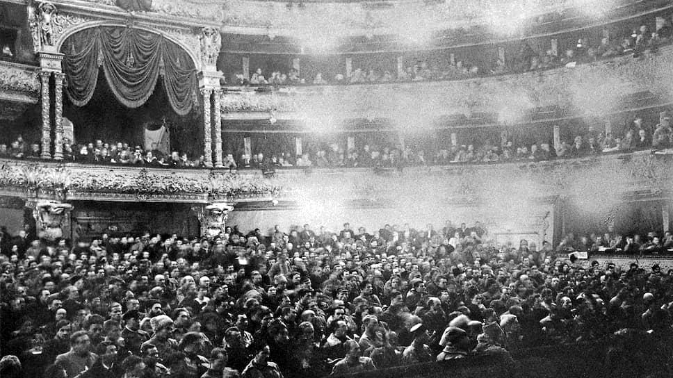 В декабре 1922 года первый съезд Советов СССР в Большом театре провозгласил создание многонационального социалистического государства