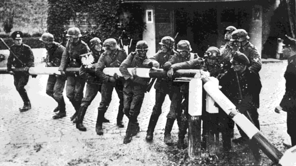 1 сентября 1939 года. Солдаты вермахта «вскрывают» границу Польши
