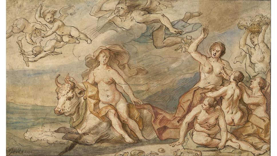 Якоб Йорданс. «Похищение Европы». Около 1655–1660. Государственный Эрмитаж