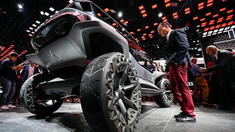 Электрический внедорожник AI:Trail на стенде компании Audi