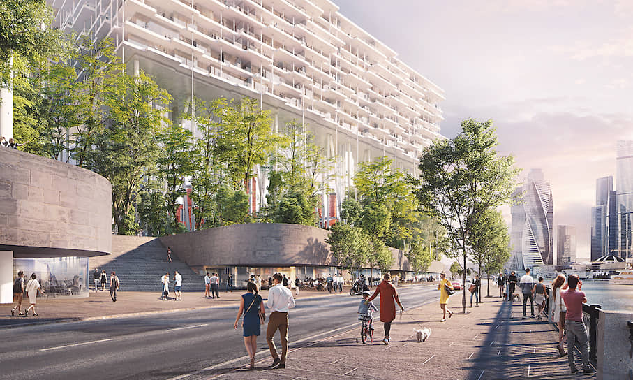 Проект многофункционального комплекса на месте Бадаевского пивзавода подготовлен швейцарским бюро Herzog & de Meuron совместно с проектным бюро АПЕКС